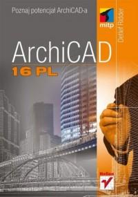 ArchiCAD 16 PL - okładka książki