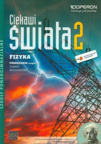 Ciekawi świata 2. Fizyka. Podręcznik - okładka podręcznika