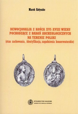 Dewocjonalia z końca XVI-XVIII - okładka książki