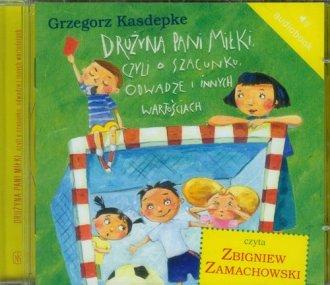 Drużyna pani Miłki czyli o szacunku - pudełko audiobooku
