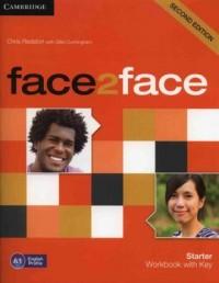 Face2face Starter Workbook with key - okładka podręcznika