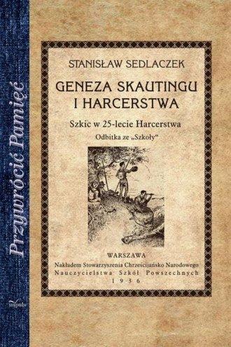 Geneza skautingu i harcerstwa. - okładka książki
