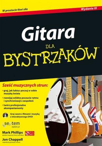 Gitara dla bystrzaków - okładka książki