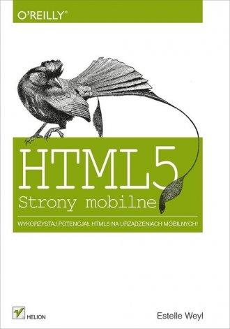HTML5. Strony mobilne - okładka książki
