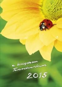 Kalendarz z księdzem Twardowskim 2015. Biedronka - okładka książki