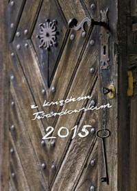 Kalendarz z księdzem Twardowskim 2015. Klucz - okładka książki