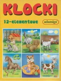 Klocki (12-elem.) - Wydawnictwo - zdjęcie zabawki, gry