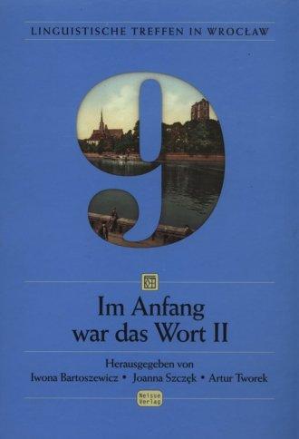 Linguistische Treffe in Wrocław - okładka książki