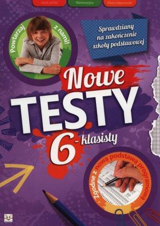 Nowe testy 6-klasisty - okładka podręcznika