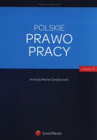 Polskie prawo pracy - okładka książki