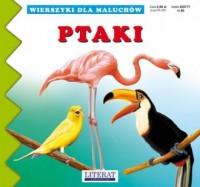 Wierszyki dla maluchów. Ptaki - okładka książki
