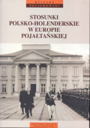 Stosunki polsko-holenderskie w - okładka książki