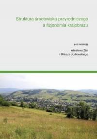 Struktura środowiska przyrodniczego a fizjonomia krajobrazu - okładka książki