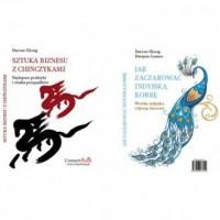 Sztuka biznesu z Chińczykami / Jak zaczarować indyjską kobrę - okładka książki