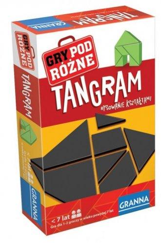 Tangram. Gra - zdjęcie zabawki, gry