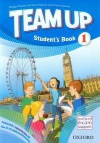 Team Up 1. Students Book. Język angielski. Klasy 4-6. Szkoła podstawowa. Podręcznik z repetytorium - okładka podręcznika