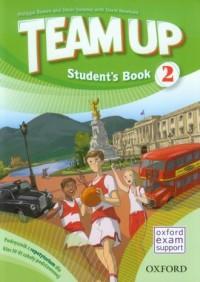 Team Up 2 Students Book. Podręcznik z repetytorium dla klas 4-6 szkoły podstawowej - okładka podręcznika