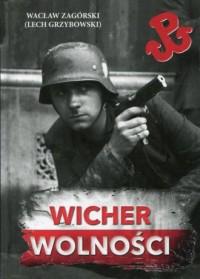 Wicher wolności - okładka książki