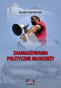 Zaangażowania polityczne młodzieży - okładka książki
