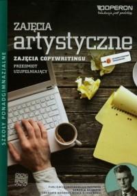 Zajęcia artystyczne. Przedmiot uzupełniający. Copywriting. Szkoła ponadgimnazjalna. Podręcznik - okładka podręcznika