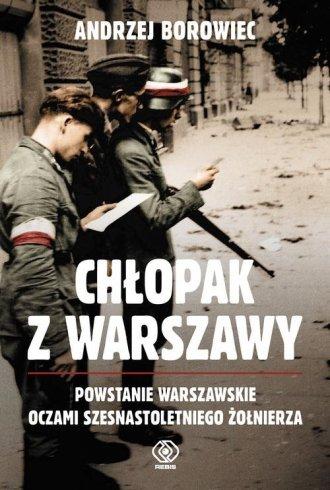 Chłopak z Warszawy - okładka książki