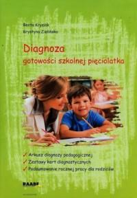 Diagnoza gotowości szkolnej pięciolatka - okładka książki