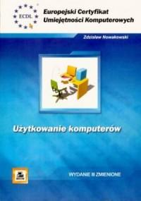 ECUK. Użytkowanie komputerów - okładka książki