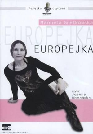 Europejka. Czyta: Joanna Domańska. - pudełko audiobooku