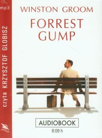 Forrest Gump. Książka audio CD - pudełko audiobooku