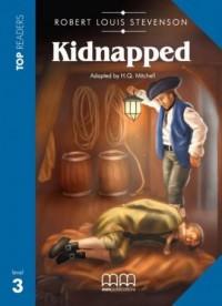 Kidnapped + CD. Top Readers Level - okładka książki