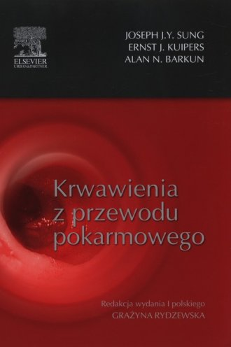 Krwawienia z przewodu pokarmowego - okładka książki