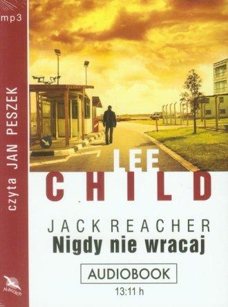 Nigdy nie wracaj (CD mp3) - pudełko audiobooku