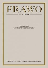 Prawo CCCXVI /1 - okładka książki