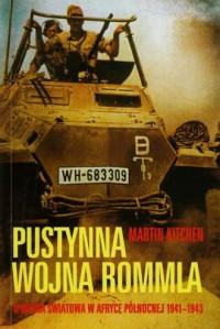 Pustynna wojna Rommla. II wojna - okładka książki