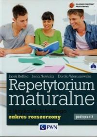 Repetytorium maturalne z języka niemieckiego Podręcznik z płytą CD Zakres rozszerzony. Szkoła ponadgimnazjalna - okładka podręcznika
