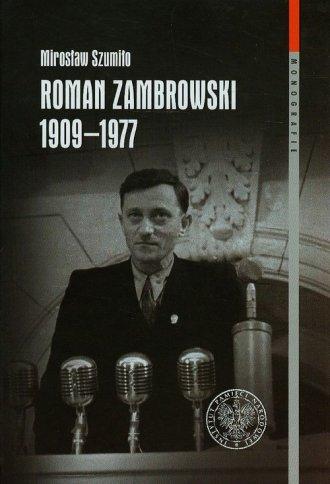 Roman Zambrowski 1909-1977. Studium - okładka książki