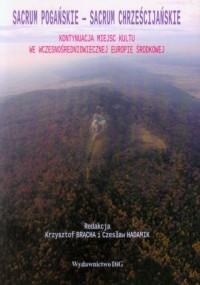Sacrum pogańskie - Sacrum chrześcijańskie. Kontynuacja miejsc kultu we wczesnośredniowiecznej Europie Środkowej - okładka książki
