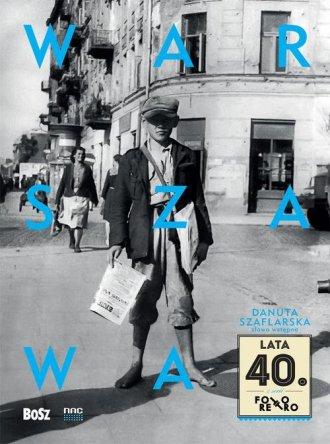 Warszawa lata 40. - okładka książki