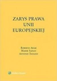 Zarys prawa Unii Europejskiej - okładka książki