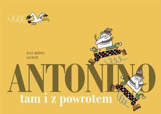 Antonino tam i z powrotem - okładka książki