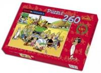 Asteriks Obeliks. Mieszkańcy osady (puzzle 260-elem.) - zdjęcie zabawki, gry