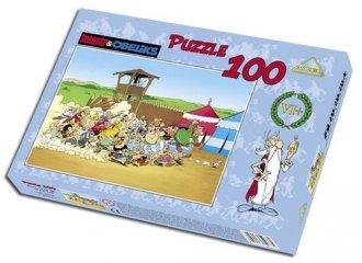 Asteriks Obeliks. Szarża (puzzle - zdjęcie zabawki, gry
