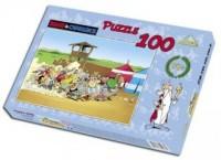 Asteriks Obeliks. Szarża (puzzle 100-elem.) - zdjęcie zabawki, gry