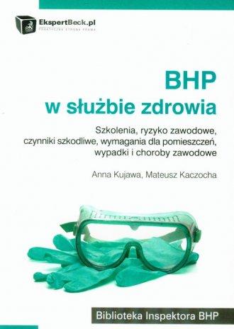 BHP w służbie zdrowia - okładka książki