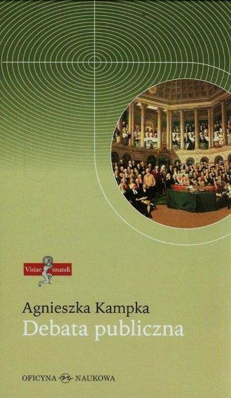 Debata publiczna - okładka książki