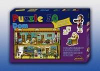 Dom (puzzle 50-elem.) - zdjęcie zabawki, gry