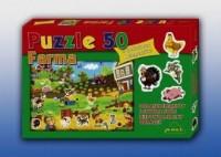 Farma (puzzle 50-elem.) - zdjęcie zabawki, gry