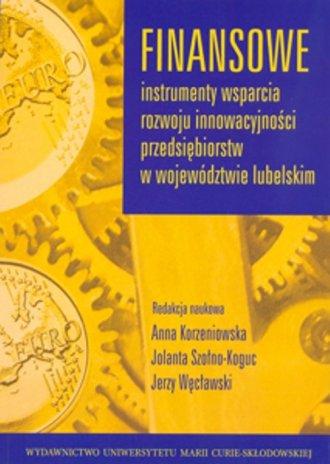 Finansowe instrumenty wsparcia - okładka książki