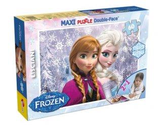 Frozen (puzzle dwustronne maxi - zdjęcie zabawki, gry