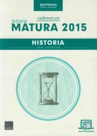 Historia. Nowa Matura 2015. Vademecum - okładka podręcznika